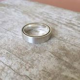 Ferrule Wood Ring - men's jewellery