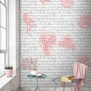 Stay Wild Pink Neon Brick By Woodchip And Magnolia