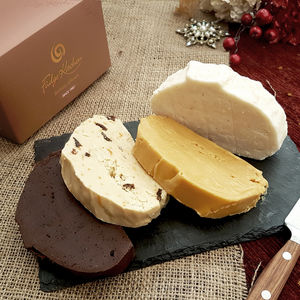 Dairy Free, Vegan Friendly, Fudge Christmas Selection - dairy free food gifts