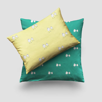Robin Print Cushion