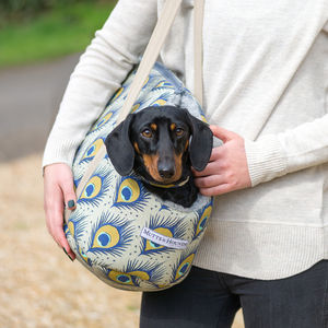 Peacock Linen Dog Carrier - view all new