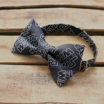 Star Wars Force Awakens Text Bowtie