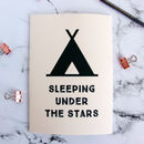 Personalised Camping Notebook