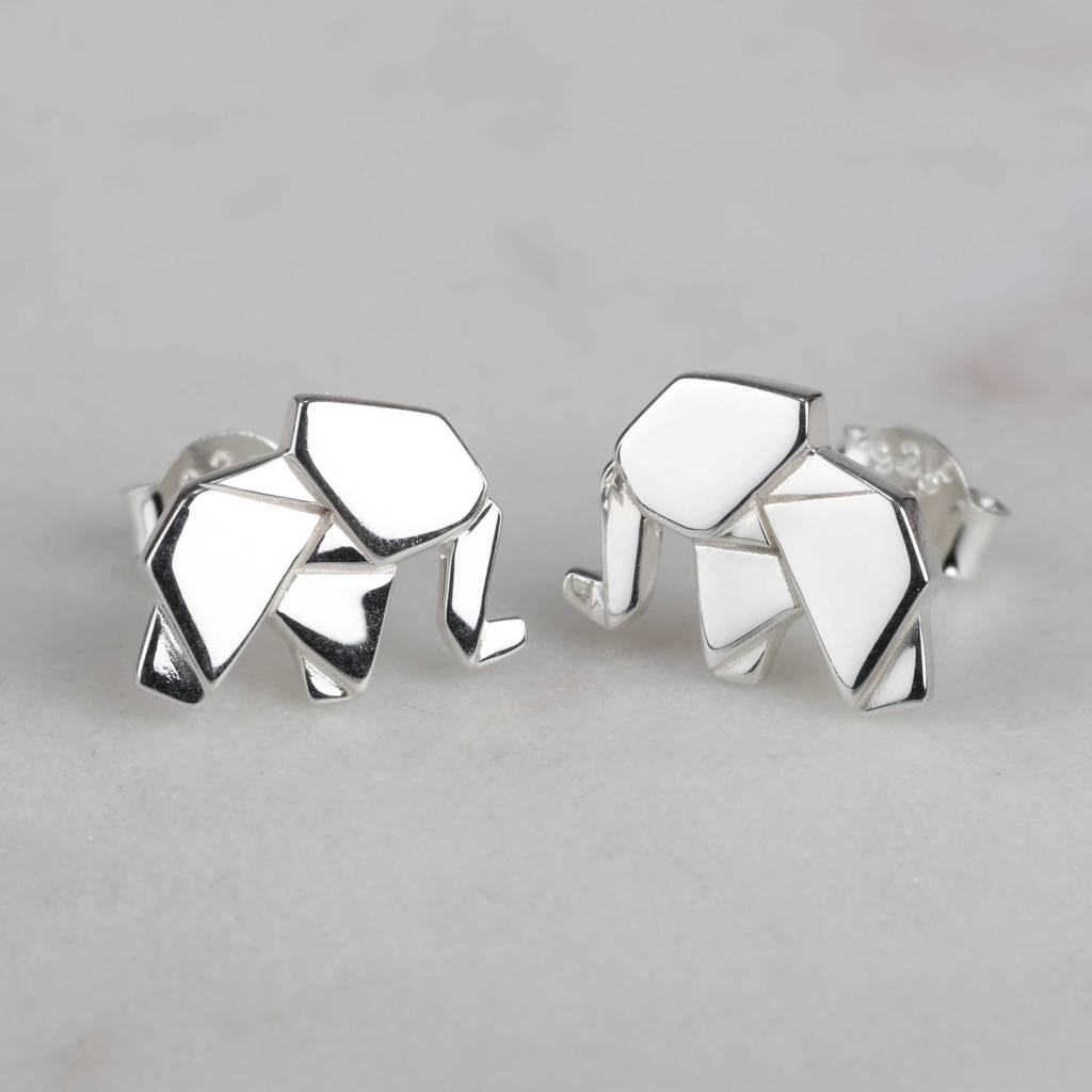 elephant ganesh store earrings