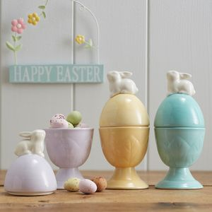 Rabbit Egg Cup - winter sale