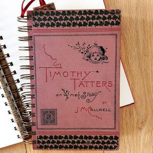 'Timothy Tatters' Upcycled Notebook