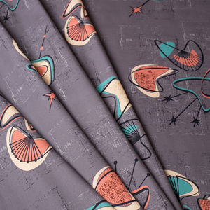 Mid Century Inspired Interior Weight Fabric 'Monterey'