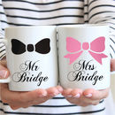 Mr And Mrs Mugs With Personalisation Available