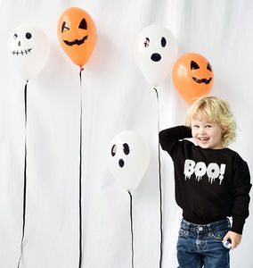 'Boo!' Children's Halloween Sweatshirt Jumper