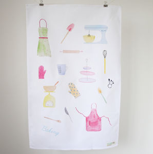 Baking Tea Towel - tea towels