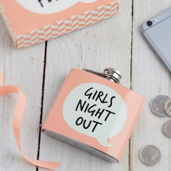 Girls Night Hip Flask
