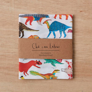 Dinosaur Handkerchief - 50th birthday gifts
