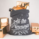 All The Trimmings Christmas Tote Bag