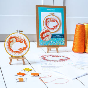 Woodland Squirrel Cross Stitch Kit - what's new
