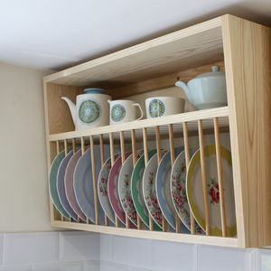 Contemporary Plate Rack
