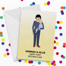 First Mother's Day Design Your Own Portrait Card