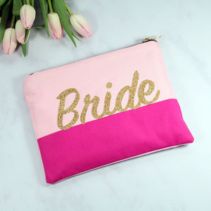 Customised Bride Bag