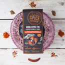 Spice Kitchen World Spice Blends Tin With Sari Wrap