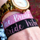 rose gold bride tribe hen party accessories