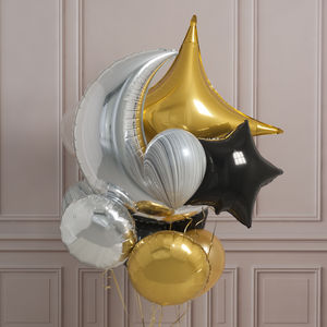 Glitz And Glam Crazy Party Foil Balloon Pack