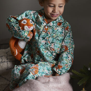 Personalised Children's Jungle Pyjamas