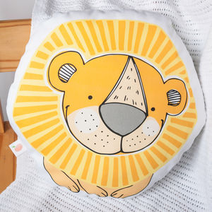Personalised Lion Children's Cushion