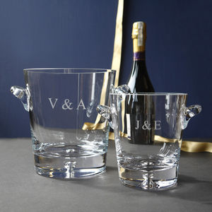 Champagne Cooler And Ice Bucket Collection - engagement gifts