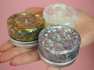 Glitter And Glue Pots - make-up