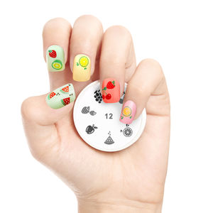 Tutti Frutti Nail Art Stamp - nail care