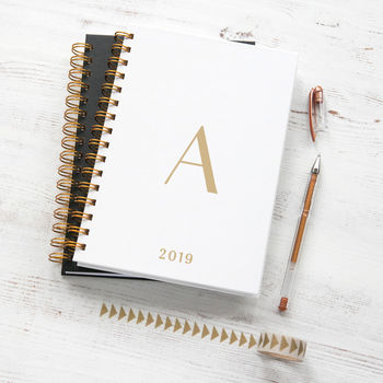 Personalised Initial 2019 Weekly Diary