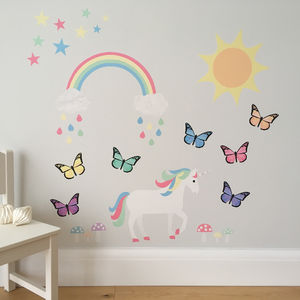 Magical Woodland Wall Sticker Set - wall stickers