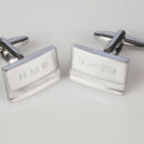 Personalised Cufflinks With Initials