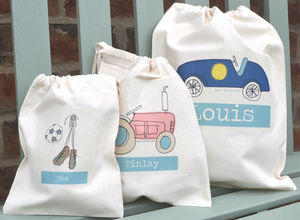 Boy's Personalised Party Bags