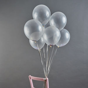 Personalised Confetti Balloons - room decorations