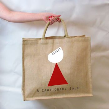 Cautionary Tale Handmaid's Tale Tote Bag