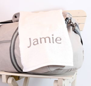 Personalised Gym Towel - bed, bath & table linen