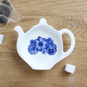 'Floral' Tea Tidy - crockery & chinaware
