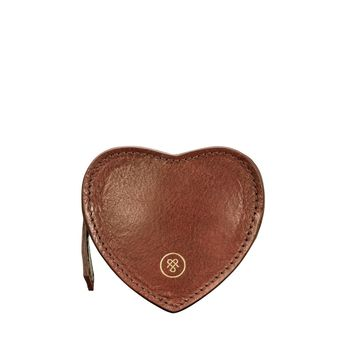 Personalised Handcrafted Leather Coin Purse 'Mirabella'