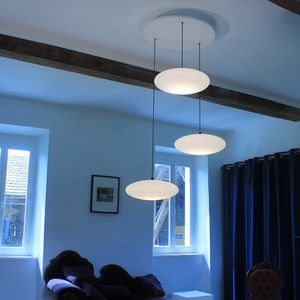 Etheletta Three Drop Suspension - ceiling lights