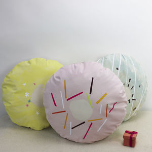 Donut Cushion - cushions