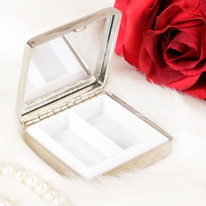 Personalised Mirror Pill Box