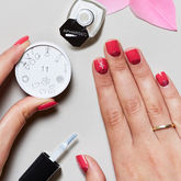 Lovey Dovey Nail Art Stamp - health & beauty