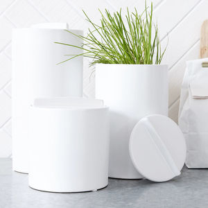 Kitchen Storage Jar With Lid - kitchen