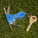 Personalised Multi Tool Key Ring