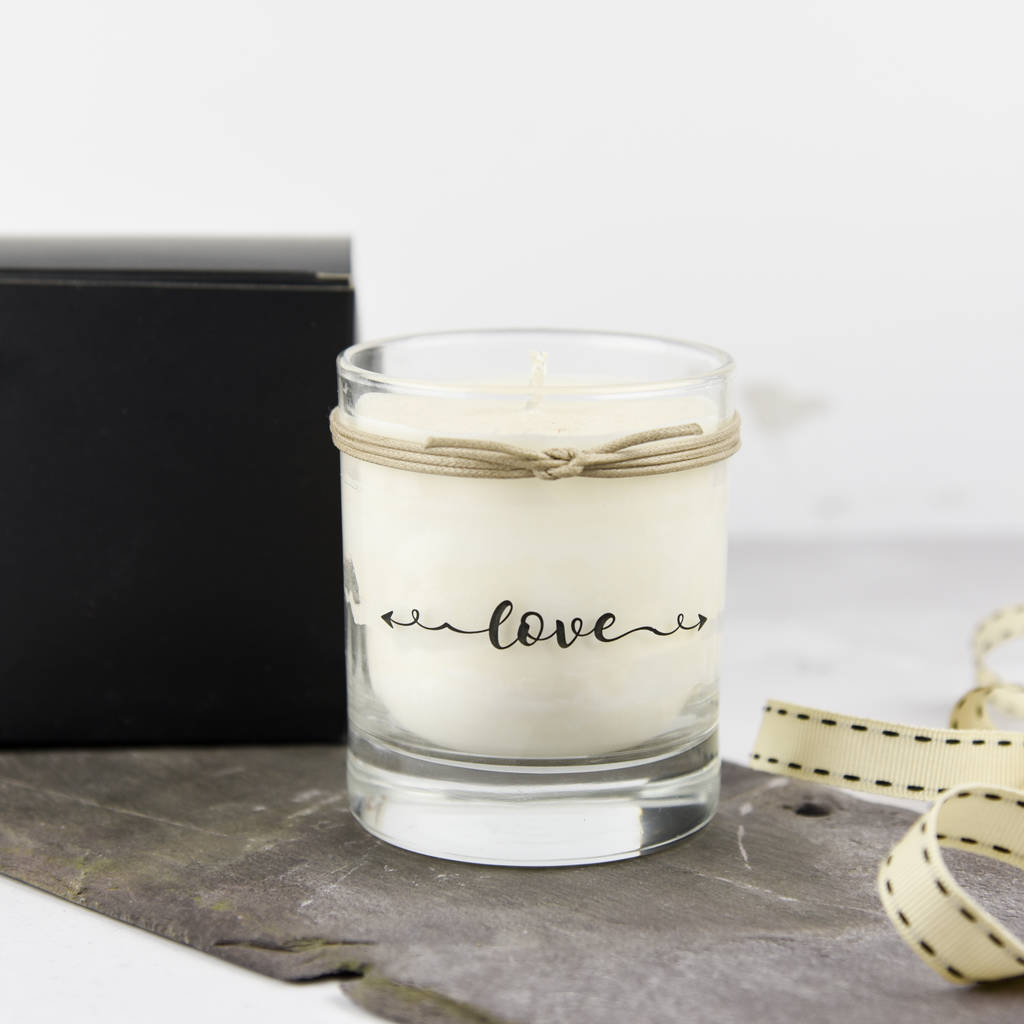Love Scented Candle