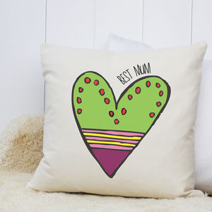 Personalised 'Hearts' Cushion