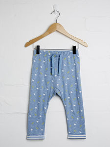 Paper Plane Print Jogger - baby & child sale