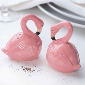 Flamingo Salt And Pepper Pots - salt & pepper pots