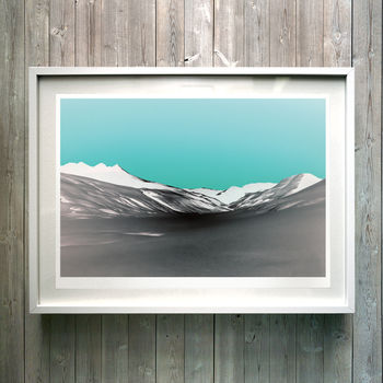 Negative Space. Fine Art Giclée Print