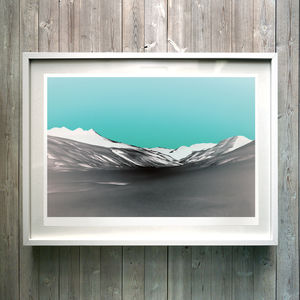 Negative Space. Fine Art Giclée Print - modern & abstract